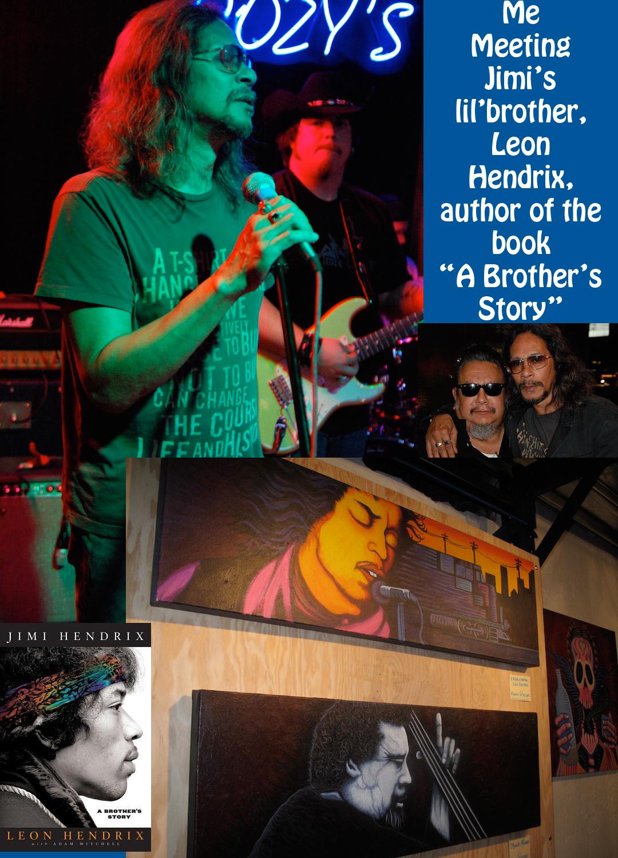 Leon Hendrix, brother of Jimi Hendrix