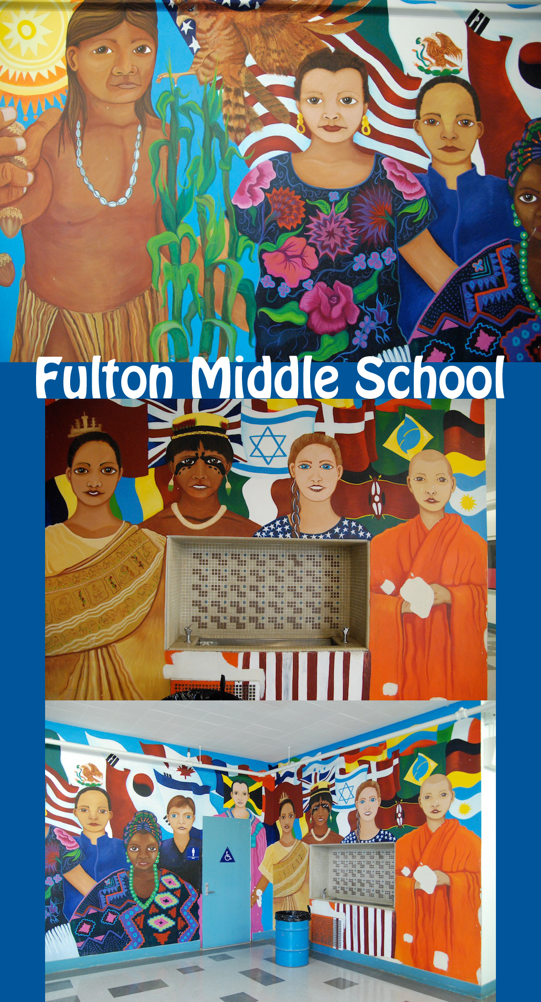 Fulton Middle School, Van Nuys, Los Angeles